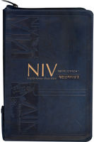 개정 NIV 영한스터디성경 대 합본(색인/친환경PU소재/지퍼/네이비)