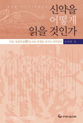 신약을 어떻게 읽을 것인가 - 바른 성경묵상(QT)을 위한 김세윤 교수의 신약강의