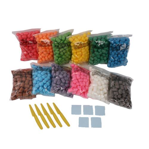 [플레이콘]1200(100P*12색)