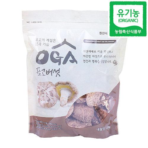 믿음 유기농 표고버섯(원형) 200g