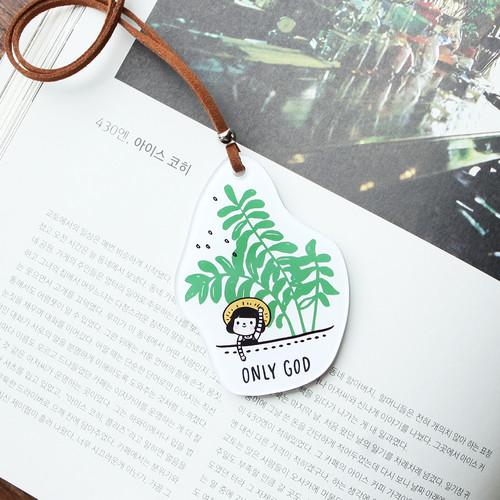 그레이스벨 차량용걸이 06.초록잎(화이트)