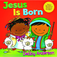 Jesus Is Born (Board Book) (Series: Cuddle And Sing)
