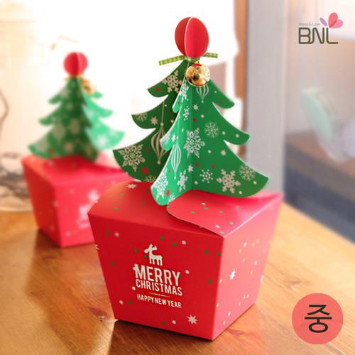[x-mas포장]BNL 크리스마스 트리 선물상자(중)