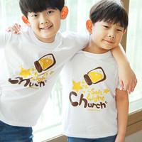 [한정판매]  The Word 티셔츠_ Church 교회(아동용)-당일배송