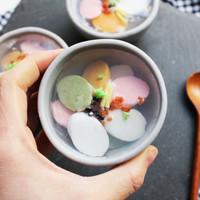 [숯비누] 오색떡 떡국비누 + 보자기포장