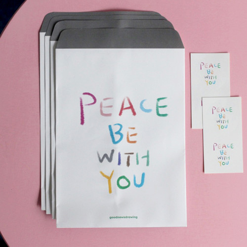 포장봉투 02.Peace be with you