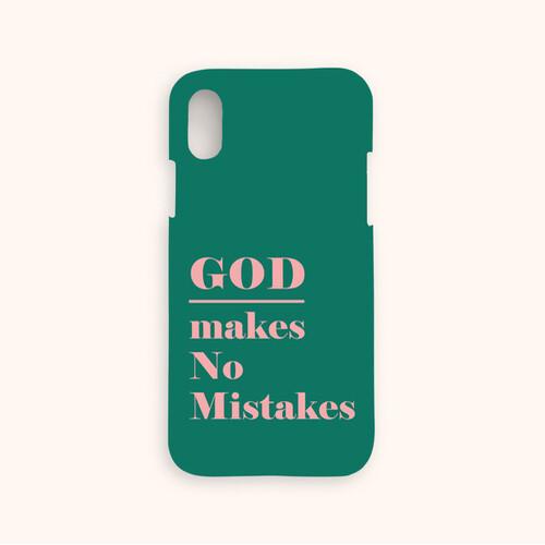 울보제자 God makes no mistakes 찬양케이스 (그린)