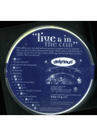 delirious?  - live & in the can (CD)
