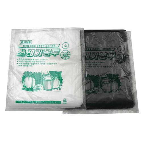 (한셀)GR58 배접 비닐봉투 소/재활용/분리수거 40L(100매)