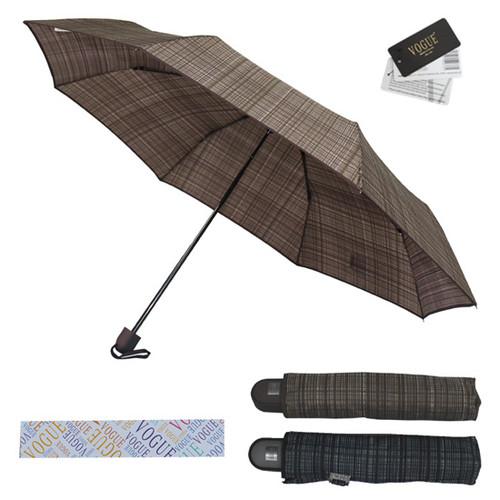 보그 3단 프리미엄 체크 우산