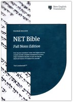 NET Bible, Full-notes Edition, Leathersoft, Teal, Comfort Print (Imitation Leather)