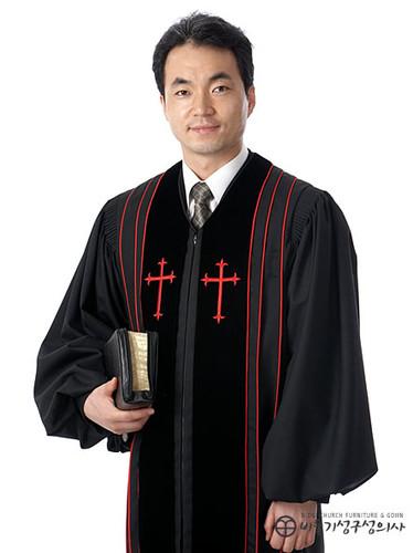 목사 가운_검정(B01-001)