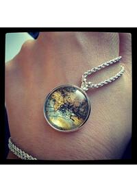 목걸이 - 세계여행시리즈 (내 작은 지구)