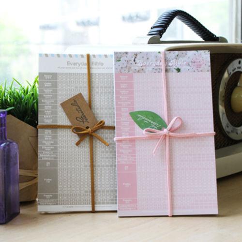 피터카페 성경읽기표 - Cherry Blossom+Post Card(2종구성/ 총 20장)