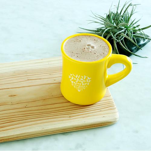 노아데코 컬러머그컵(옐로우_주와함께)