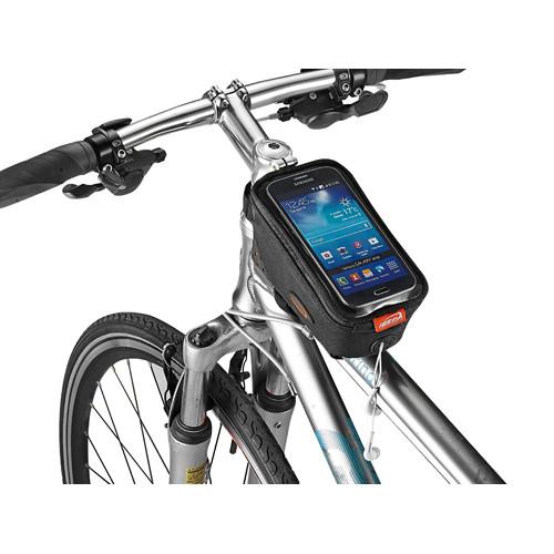대형 스마트폰 거치 가능 자전거 탑튜브 가방