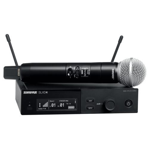 SHURE SLXD24/SM58 디지털 무선 마이크
