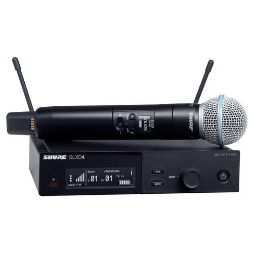 SHURE SLXD24/BETA58A 디지털 무선 마이크