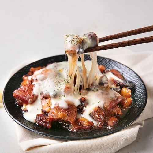 아산높은뜻씨앗교회 김환용 집사의 문어치즈불닭 (170g X 3팩)