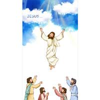 교회부활절현수막-258 ( 100 x 180 )