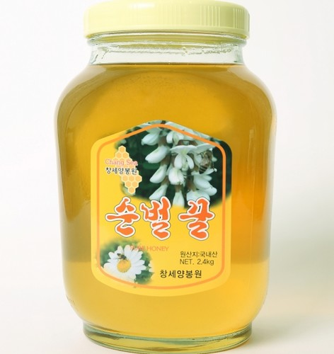 성도교회 장성범 집사의 아카시아 꿀 (2.4kg)