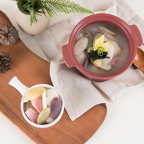 하늘생명교회 아산풍성한영농조합의 오색떡국떡(500g*2ea)