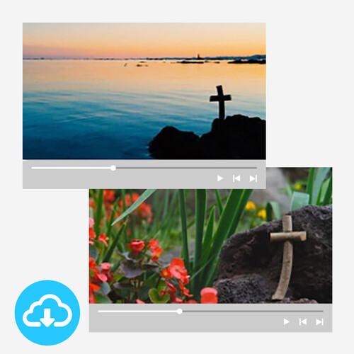 십자가 배경영상 세트 1 by 빛나는시온 / 이메일발송(파일)