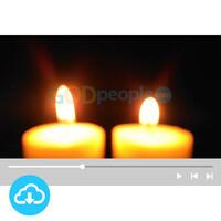 예배용 영상클립3 by 니카 / 촛불 / 성탄절 / 대림절둘째주 / 이메일 발송(파일)