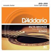 다다리오 EZ900 어쿠스틱 기타줄