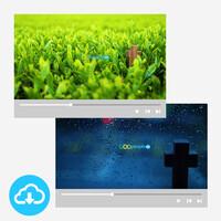 십자가 배경영상 세트 2 (11~20) by 굿픽 / 이메일발송(파일)