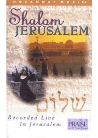 Praise & Worship - Shalom Jerusalem (Tape)