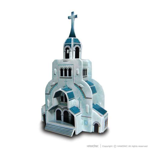 교회마을-부활교회(입체퍼즐)