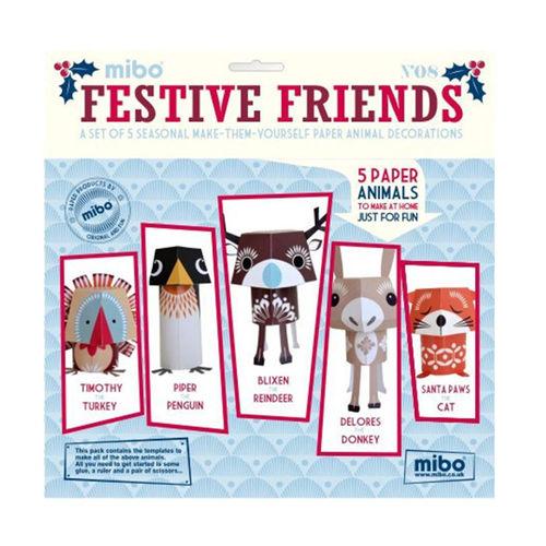 [미보 종이접기]Festive Friends-08