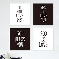 (말씀 액자)Do you love me?+Yes,I love you(세트상품)