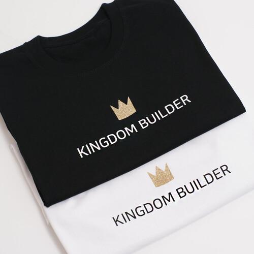 갓피플 반팔 티셔츠 - 킹덤빌더 : 하나님나라를 세워가는 사람
