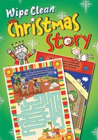 Wipe Clean Christmas Story (PB)