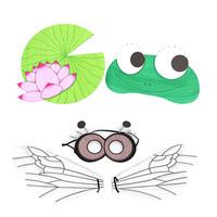 [만들기패키지]영역놀이-개구리 연못 set