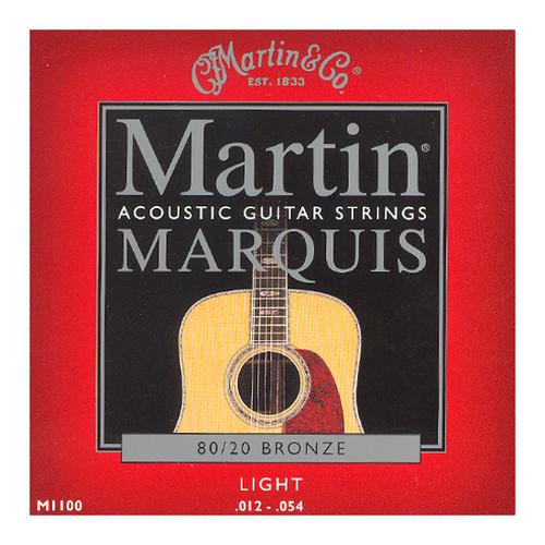 마틴 어쿠스틱 기타줄 MARQUIS LIGHT (M1100) - 80/20 Bronze