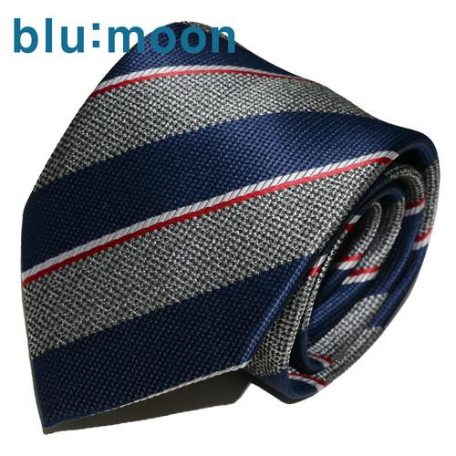 [blu:moon] 블루문넥타이 - 디럭스 네이비 8cm