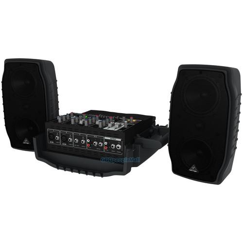 베링거 PPA200 이동형 음향시스템