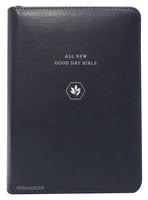 [교회단체명 인쇄] ALL NEW 굿데이성경 미니 합본 (색인/친환경PU소재/지퍼/네이비)