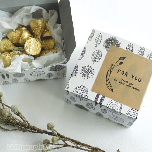 Gift box_Gray 5매_S/M/L