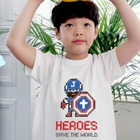 [갓키즈 티셔츠] 히어로즈(캡틴 지저스)