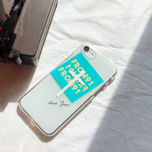 [MADE Jelly] 십자가 크라이스트 지저스 말씀 스마트폰 젤리케이스