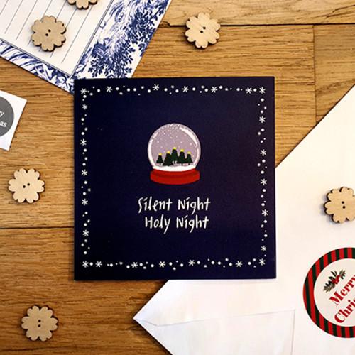 [스노우볼] 크리스마스 고급카드