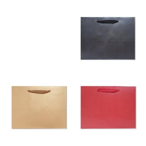 홀마크 단색 무지 쇼핑백 - 특대 가로형 (3종택일/1매입)