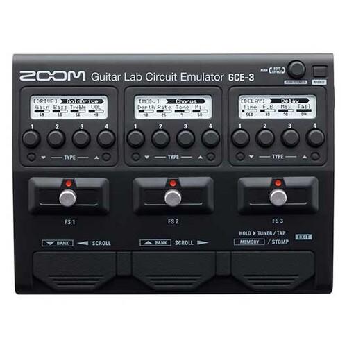 ZOOM GCE-3 기타 베이스용 USB 오디오 인터페이스