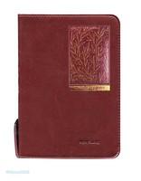 뉴새찬 컬러포커스 성경 소합본 (색인/지퍼/이태리신소재/잎새버건디)