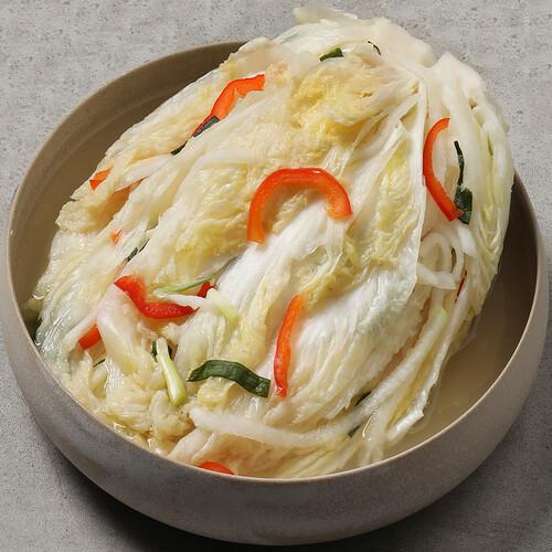 전주찬방 유기배추 백김치 1kg