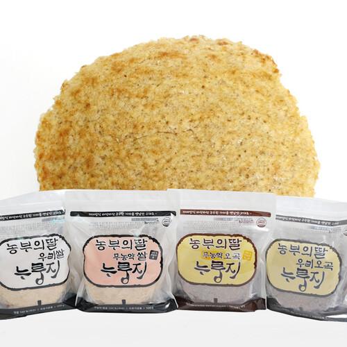 농부의딸 현미누룽지/유기농오곡누룽지/유기농쌀누룽지 500g